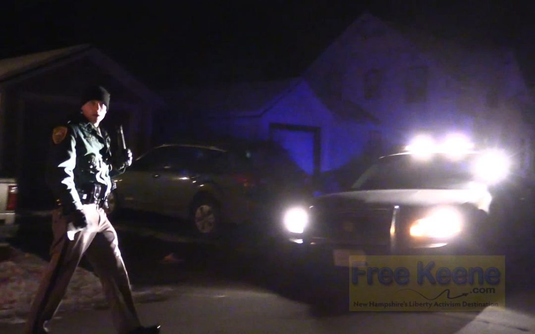 "Cop Blockers Scare Trooper Away From Pullover in Keene's ""Free Streets Project"""